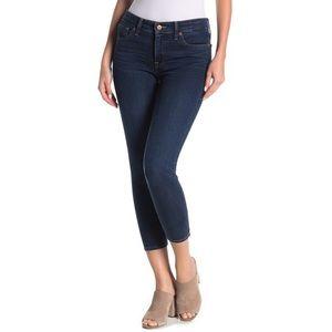 Stitch Fix LiverPool Dark Wash Skinny Crop Jeans